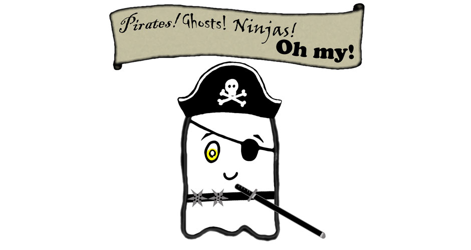 come out play pirates ghosts ninjas oh my